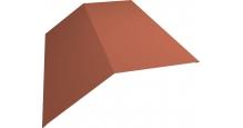 Коньки для кровли из металлочерепицы Grand Line в Старом Осколе Планка конька 190х190