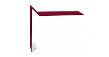 Ветровые планки для мягкой кровли в цвете RAL 7005 мышино-серый Grand Line в Старом Осколе 100х20х100