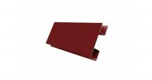 Доборные элементы GL Блок-Хаус NEW Grand Line в цвете RAL 8017 шоколад в Старом Осколе Н-образная планка