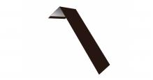 Металлические доборные элементы для фасада в Старом Осколе Планка лобовая/околооконная простая 190х50